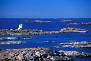 Aland island archipelago